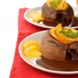 Chocolate fondant — Stockfoto #39590289