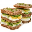 Dietetic sandwich — Stock Photo #40443947