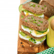 Dietetic sandwich — Stock Photo #40443965