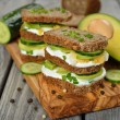 Dietetic sandwich — Stock Photo #40443967