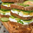 Dietetic sandwich — Stock Photo #40443969