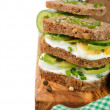 Dietetic sandwich — Stock Photo #40443973