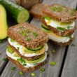 Dietetic sandwich — Stock Photo #40443977