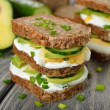 Dietetic sandwich — Stock Photo #40443991