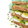 Dietetic sandwich — Stock Photo #40444005
