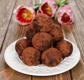 Chocolate cakes — Foto Stock