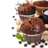 čokoládové košíčky — Stock fotografie