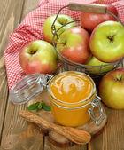 Apple sauce — Stock Photo