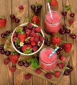 Berry smoothie — Stok fotoğraf
