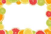 Citrus frame — Stock Photo