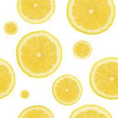 Fundo de limão sem emenda — Fotografia Stock