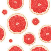 Seamless grapefruit background — Stock Photo