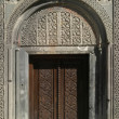 Geghard Monastery-door — Stock Photo