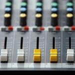 Music control console — Stock Photo