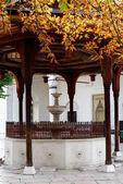 萨拉热窝,历史性加齐哈兹维清真寺 — 图库照片