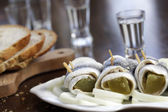 Pickled herring  — Stock Photo