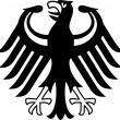 Germany coat of arms — Stock Photo #32167611