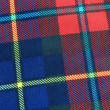 Tartan fabric — Stock Photo