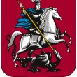 Moscow, coat of arms — Stock Photo #32168301