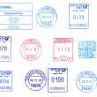 Bunch of Germpostmarks — Stock Photo #32168477