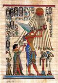 エジプトのパピルス — ストック写真