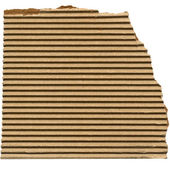Brown cardboard background — Foto Stock
