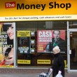 Stock Photo: The Money Shop