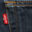 Stock Photo: Levis Strauss Red Tab
