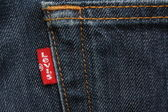 Levis Strauss Red Tab — Stock Photo