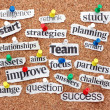 Stock Photo: Catchwords for Success