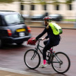 Stock Photo: London Cycling