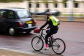 Londres ciclismo — Fotografia Stock