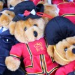 Teddy Bears in Uniform — Stock Photo
