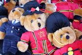 Teddy Bears in Uniform — Stock Photo