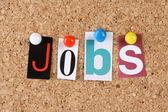 Empregos — Foto Stock