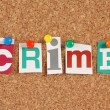 Crime — Stock Photo