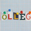 Stock Photo: College