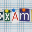 Exams — Stock Photo