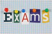 Exams — Stock Photo