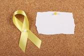 Yellow Ribbon — Stock Photo