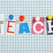 Teach — Stock Photo