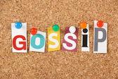 Gossip — Stock Photo