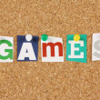 Stock Photo: Games