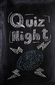 Quiz Night — Stock Photo