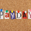 Payday or Pay Day — Stock Photo #27418191