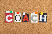 The word Coach — Stock Photo