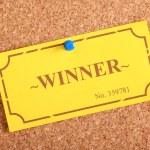 Winning Ticket — Stock Photo