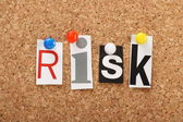 The word Risk — Stock Photo