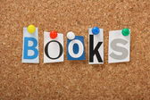 The word Books — Stock Photo