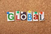 The word Global — Stock Photo